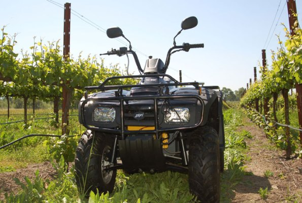The ZAP DUDE all electric ATV is great for agriculture.